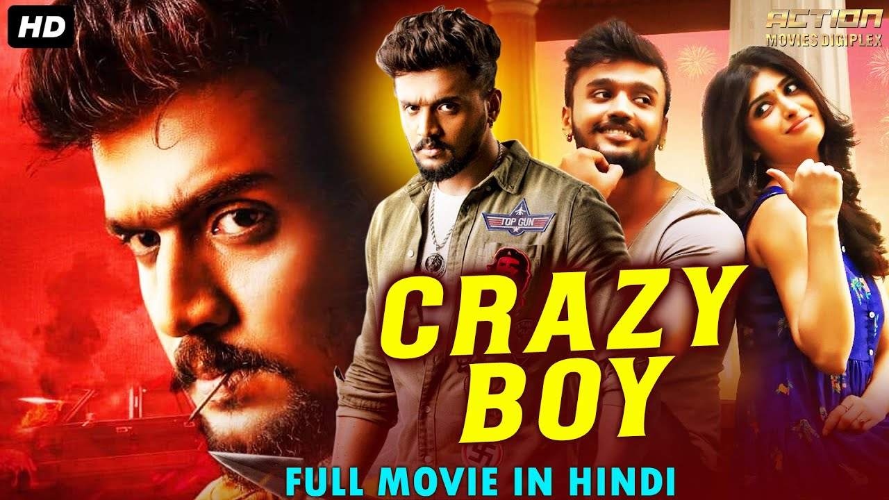 CRAZY BOY - Hindi Dubbed Full Action Romantic Movie | South Indian Movies Dubbed In Hindi Full Movie