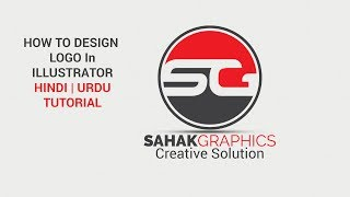 Create Logo for Youtube | Illustrator CC Tutorial in Hindi / Urdu