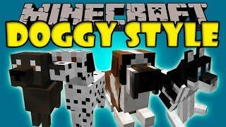 DOGGY STYLE MOD - Labradores, Dalmatas, Chihuahuas y mas! - Minecraft mod 1.7.10 Review ESPAÑOL
