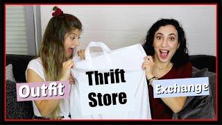 Αγοράσαμε ρούχα η μία στην άλλη από Thrift Store || fraoules22