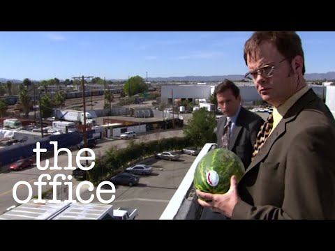 Dwight Schrute Smashes the Watermelon  The Office US