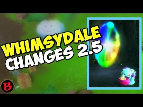 Diablo 3 Whimsydale Changes Patch 2.5 Season 10 Rainbow Goblin