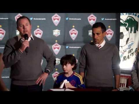 Pablo Mastroeni introduced officially as Colorado Rapids head coach