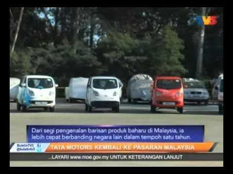 TV3 News Clipping on TATA Motors Malaysia