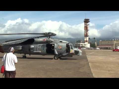 SH-60B FINAL LANDING PACIFIC AVIATION MUSEUM
