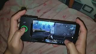 How to play pubg with ez kill hahaha...xiaomi blackshark Pubg mobile global version solid 60fps