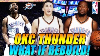 OKC THUNDER WHAT IF REBUILD! DEVIN BOOKER DRAFTED! KEVIN DURANT RESIGNS! NBA 2K17 MY LEAGUE