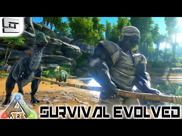 ARK: Survival Evolved   HOW TO TAME A DINOSAUR! E2 ( Gameplay )