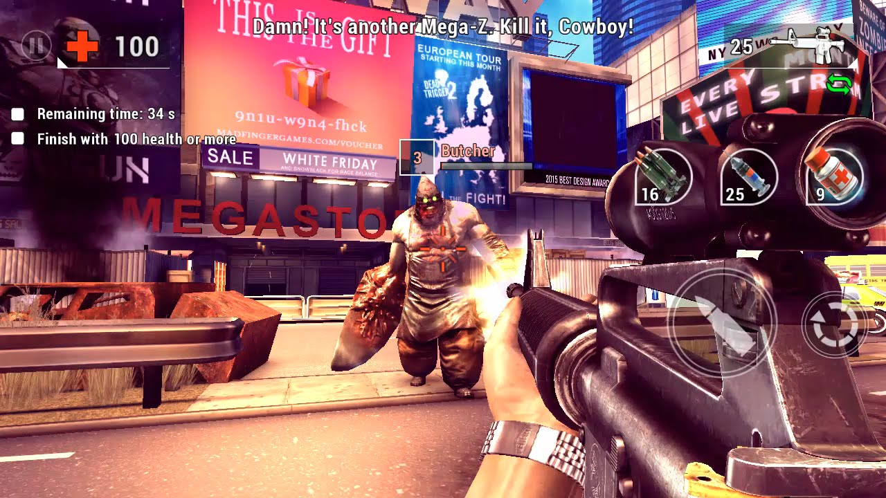 Unkilled Final Boss 6 Walkthrough Voucher For Dead Trigger 2
