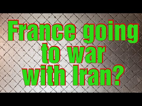 France to go to war with Iran?