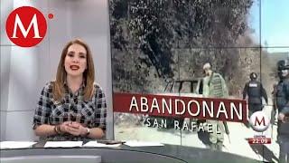 Alcalde confirma que hay 2 muertos y 10 desaparecidos en enfrentamientos