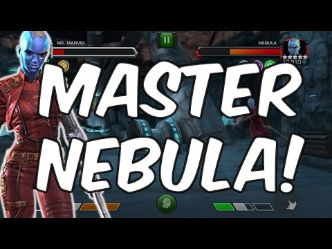 Master Mode Nebula! - 3 Star Master Mode Challenge - Marvel Contest Of Champions