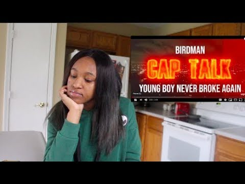 BIRDMAN FT YOUNGBOY NEVER BROKE AGAIN CAP TALK REACTION  ll AHSEEAH SIMMONE