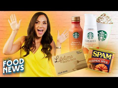 Pumpkin Spice Round-Up, CBD, & Olive Garden's Lifetime Pasta Pass | Just Food News