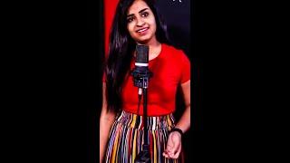 Trending: Sivaangi Singing Vinmeen Vithayil song | Sivaangi Whatsapp Status | #shorts
