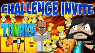 Minecraft : Think's Lab Short - Minion Challenge From Dr. Trayaurus!