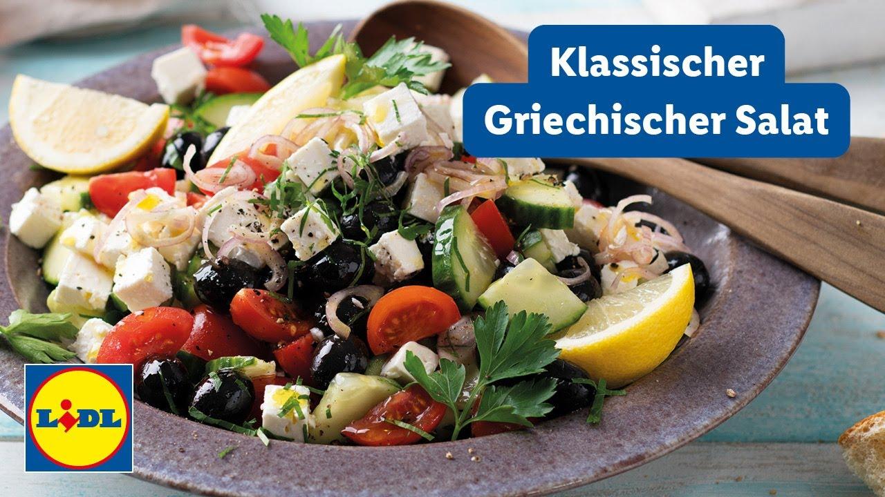 Schneller Griechischer Salat | 15min | Einfach | Lidl Kochen