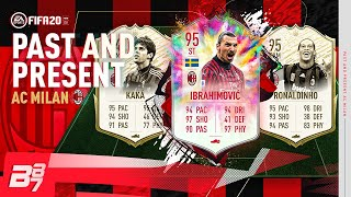 PAST AND PRESENT AC MILAN TEAM! w/ 95 IBRAHIMOVIC & 94 PRIME MOMENTS KAKA! | FIFA 20 ULTIMATE TEAM