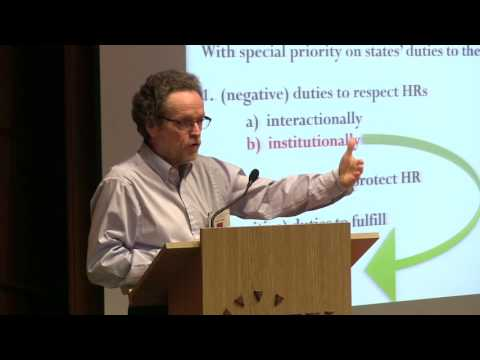 Thomas Pogge - Global Justice And Disasters