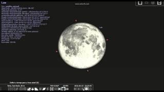 Lua sangrenta , analise na noite da lua