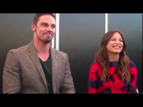 Kristin Kreuk and Jay Ryan  JayKris Moments