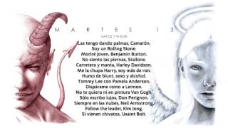 Natos-y-Waor-CAMARÓN-Letra-Martes-13