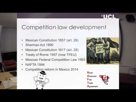 TalkAbout 03 - Omar Hernández about competition law in Mexico