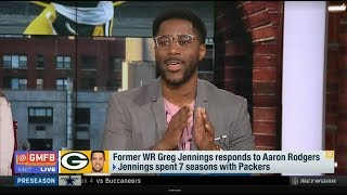 Greg Jennings responds to Aaron Rodgers