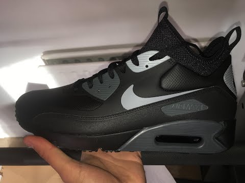 Nike Air Max 90 MID Winter Sneakerboot Unboxing