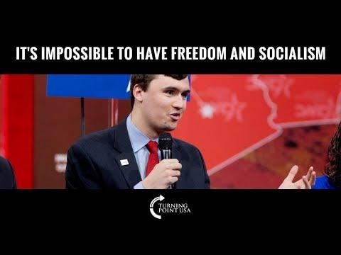 Charlie Kirk Debunks Socialism PERFECTLY