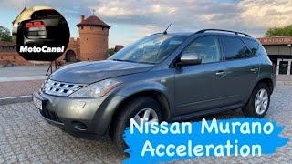 Nissan Murano z50 3.5 V6 Acceleration 0-170 km/h