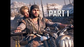 DAYS GONE Walkthrough Part 1 - FIRST HOUR Deacon (PS4 Pro Let's Play)