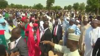 Zuwan Baba Buhari Sallar Idi Daura 2018