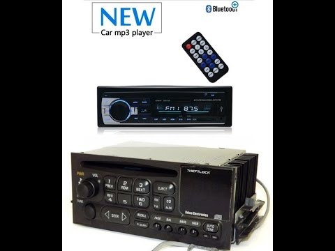 Radio Replacement Aftermarket bluetooth  mp3 Radio for Chevrolet astro GMC safari van typical GM