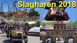 Slagharen 2018 - Parkvideo - Onrides & Impressionen - Achterbahnen - Gold Rush Onride - Freizeitpark