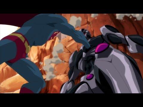 Непобежденный супермен мультфильм