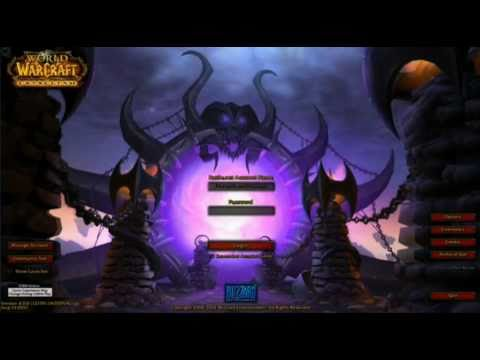 Blizzcon 2010 World Of Warcraft Cataclysm Rejected Portal Login