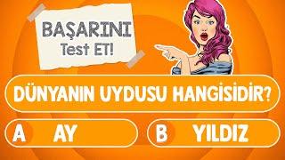 BİLGİ YARIŞMASI #11 : Genel Kültürün Ne Kadar İyi Test Et | Çocuklar için bilgi yarışması