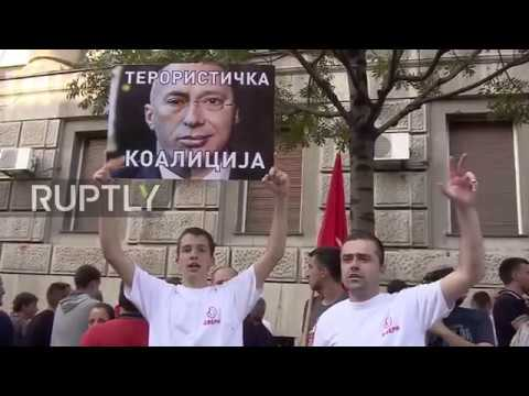 Serbia: 2,000 march against government in Belgrade