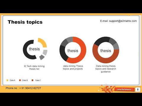 Get Latest Data Mining Thesis Topics For Master And Phd