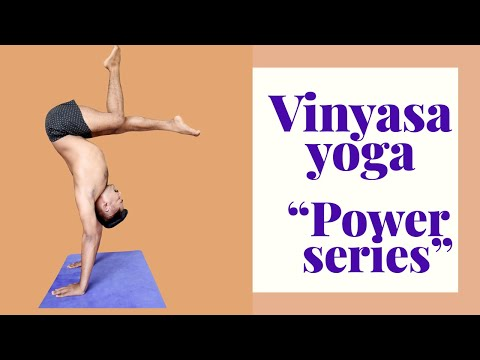 Vinyasa flow the power of body with Anmol Singh