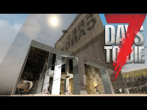 PAINTING BASE CHROME | Let's Play 7 Days to Die Part 10| Painting system - Second Turret | Alpha 16
