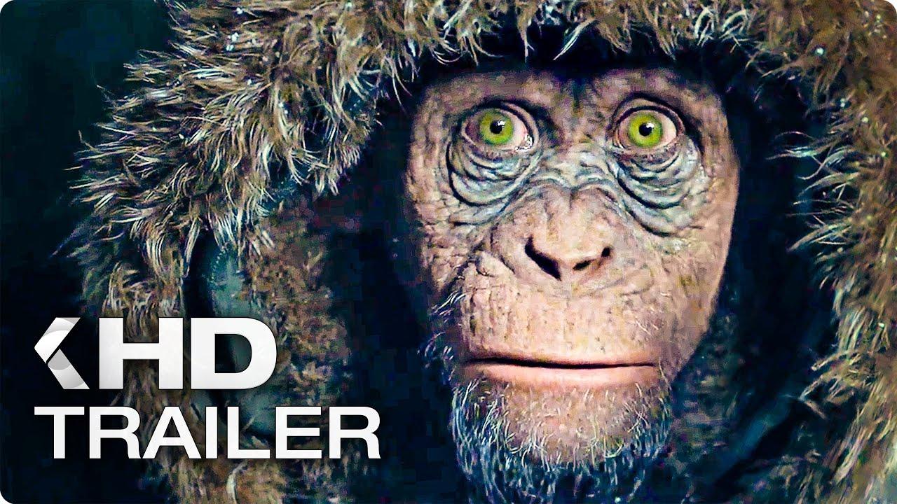 Planet Der Affen 3 Böser Affe Clip Trailer German Deutsch 2017