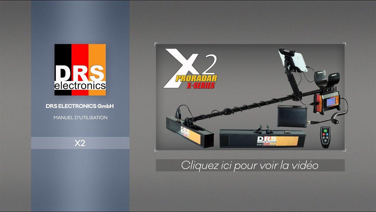 Presentation du radar de sol allemand Proradar X9 de DRS Electronics
