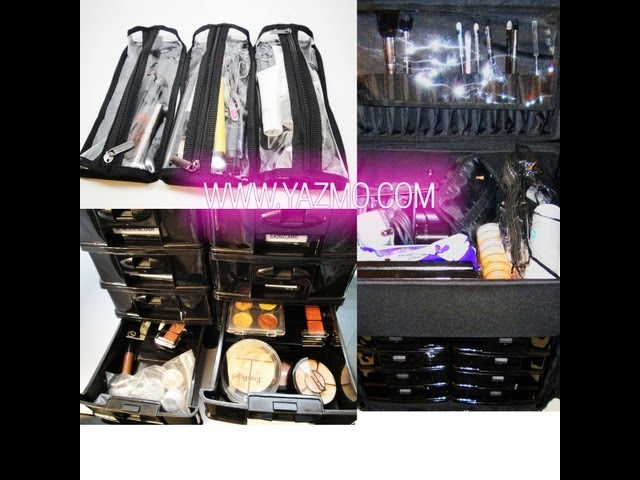 Makeup Artist Series:  New Traincase & Updated Makeup Kit feat www.Yazmo.com