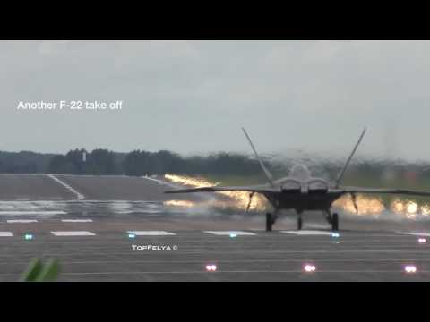 MIG-29 VS F-22 Raptor breathtaking vertical climb take offs. WARNIG ! LOUD VIDEO