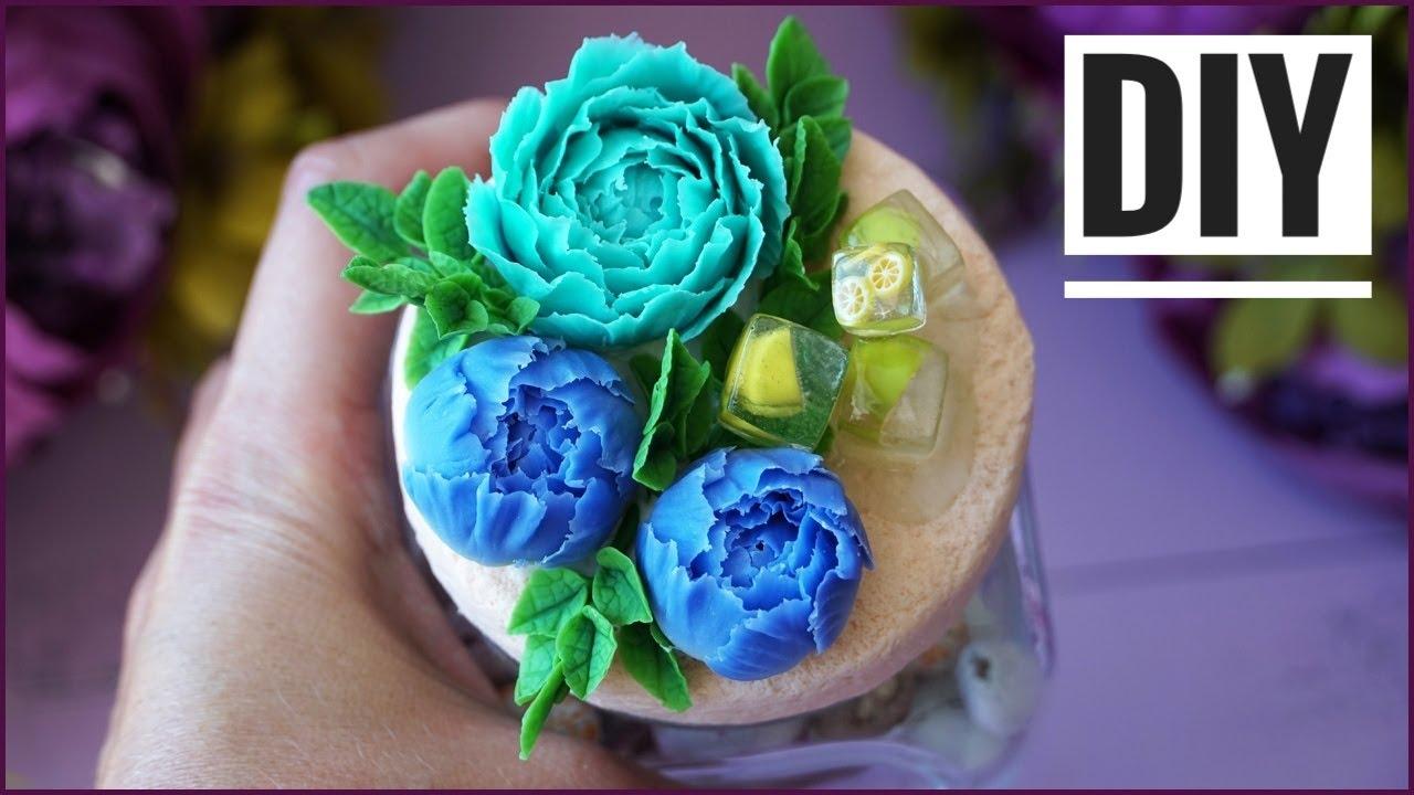 DIY / Декор баночки своими руками / Идеи декор мастер-класс / Polymer clay tuturial
