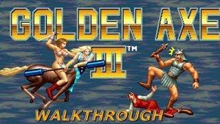 Golden Axe 3 | SEGA Arcade | Playthrough / Longplay