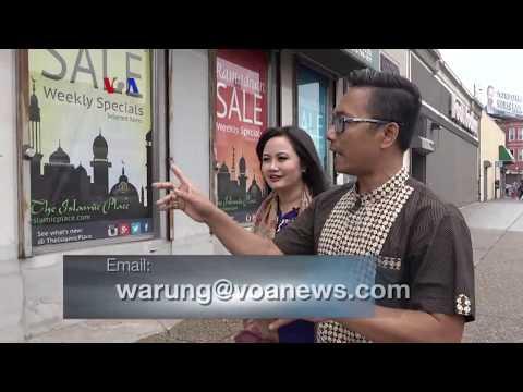 Warung VOA Ramadan: Suasana Bulan Puasa di Philadelphia (1)