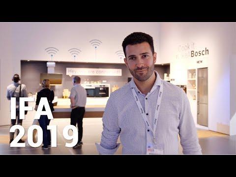 IFA 2019 - Bosch: Interview zu Home Connect & den Smarthome Neuheiten